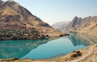 Река Вахш, Таджикистан