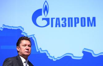 """Председатель правления компании """"Газпром"""" Алексей Миллер на общем годовом собрании акционеров ОАО """"Газпром"""""""