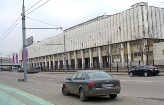 Здание ОКР на Лужнецкой набережной