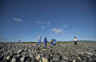 Поисковые работы на острове Реюньон