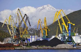 Порт в Петропавловске-Камчатском