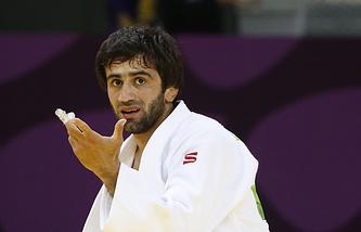 Российский спортсмен Беслан Мудранов