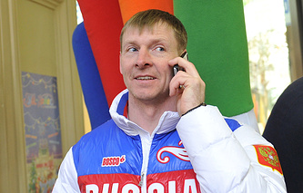 Двукратный олимпийский чемпион в бобслее Александр Зубков
