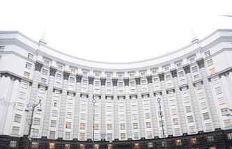 Здание кабинета министров Украины
