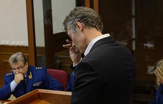 Заместитель генерального прокурора РФ Юрий Пономарев и мэр Екатеринбурга Евгений Ройзман