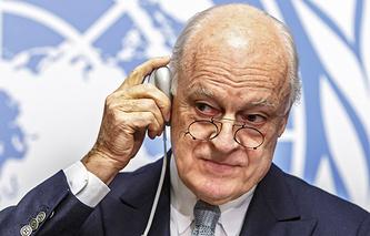 Специальный посланник генсека ООН по Сирии Стаффан де Мистура