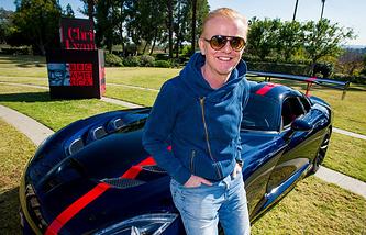 Ведущий передачи об автомобилях Top Gear Крис Эванс