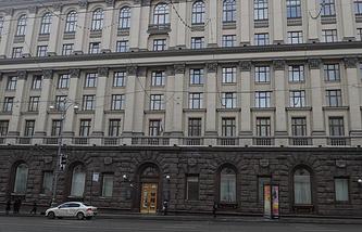 Здание министерства образования РФ