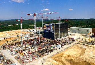 Строительство экспериментального термоядерного реактора в Карадаше