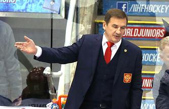 Сборная России разгромила команду Латвии в матче молодежного ЧМ по хоккею