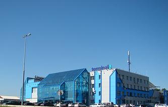 Терминал 2 в аэропорту Емельяново