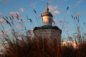 Часовня Александра Невского в поселке Соловецком на Большом Соловецком острове