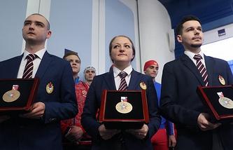 Медали Всемирных военных игр
