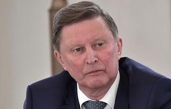 Спецпредставитель президента РФ по вопросам природоохранной деятельности, экологии и транспорта Сергей Иванов