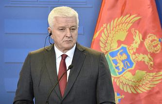 Премьер-министр Черногории Душко Маркович