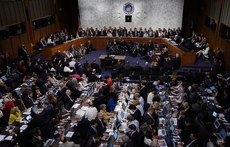 Сенат Конгресса США, Вашингтон, 8 июня