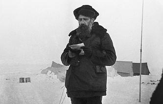 Исследователь Севера Отто Шмидт, 1931 год