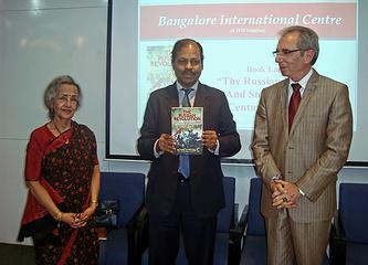 Презентация книги о русской революции в Индии