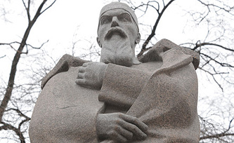 Памятник Николаю Рериху, фото ИТАР-ТАСС