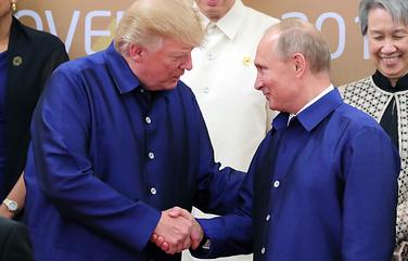 Путин и Трамп поговорят без свидетелей