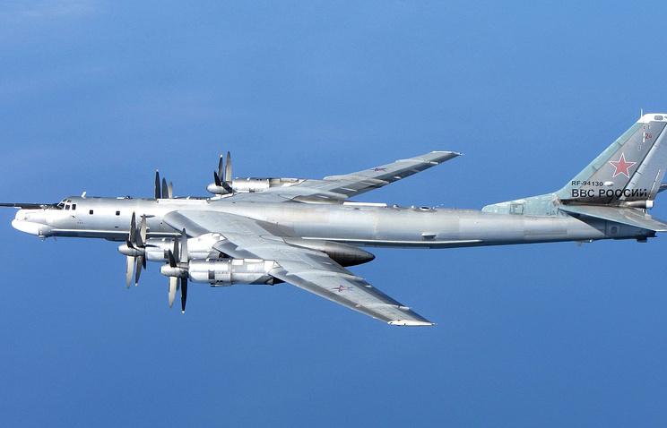 Russian Tu-95MS strategic bomber