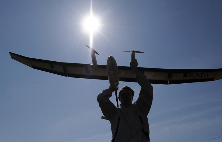Во время испытаний беспилотного авиационного комплекса