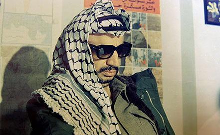 Ясир Арафат. Фото из архива AP Photo/Palestinian Authority