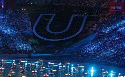 Церемония открытия Универсиады-2013 в Казани ИТАР-ТАСС/Станислав Красильников