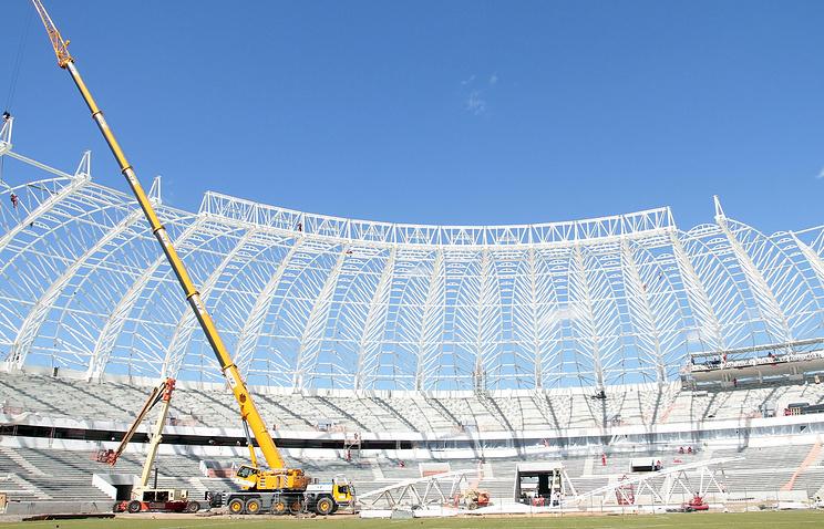 Стадион в Порту-Алегри