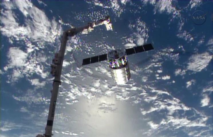 Cygnus во время предыдущей миссии к МКС