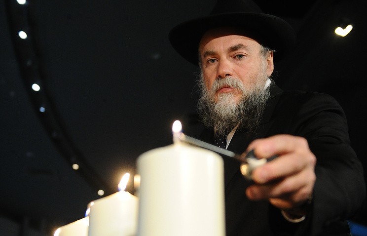 Президент федерации еврейских общин России (ФЕОР) Александр Борода
