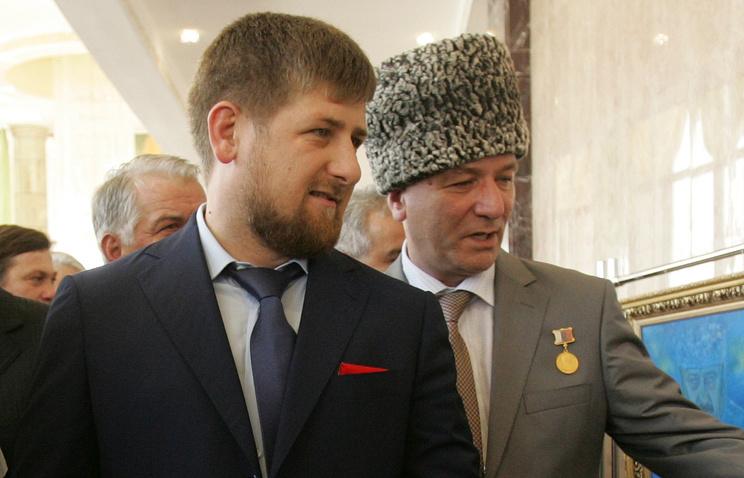 Рамзан Кадыров и Дикалу Музакаев