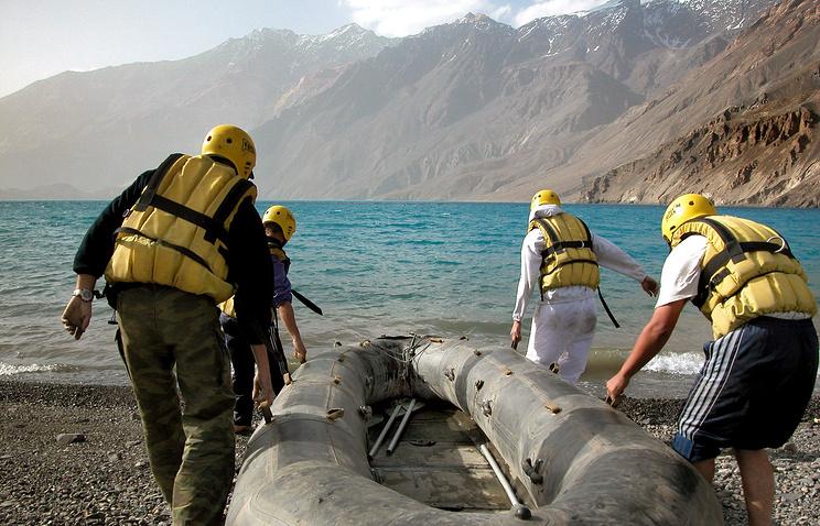 Экспедиция на озере Сарез в Таджикистане