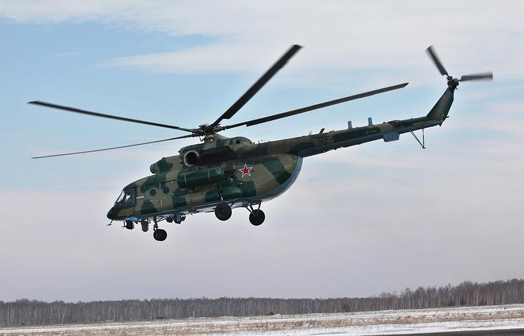 Транспортно-штурмовой вертолет Ми-8АМТШ