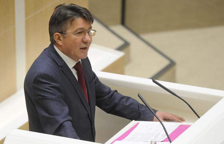 Председатель комитета верхней палаты РФ по обороне и безопасности Виктор Озеров