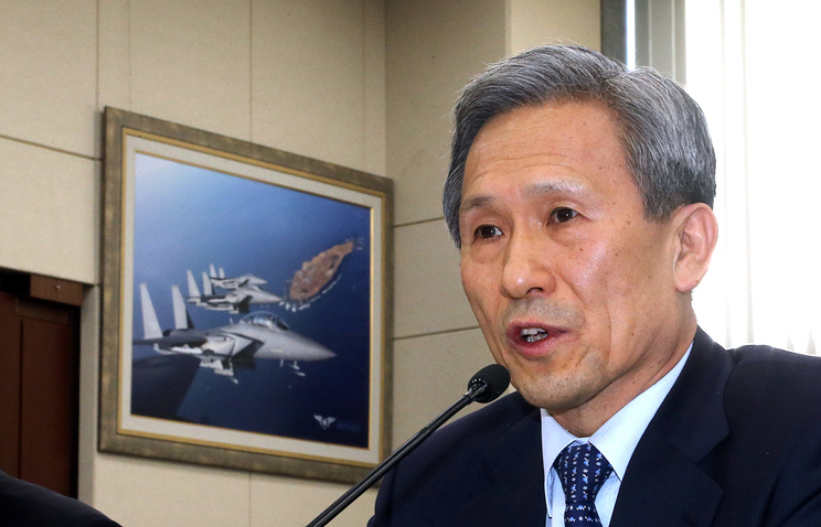 Министр национальной обороны Республика Корея Ким Гван Чжин