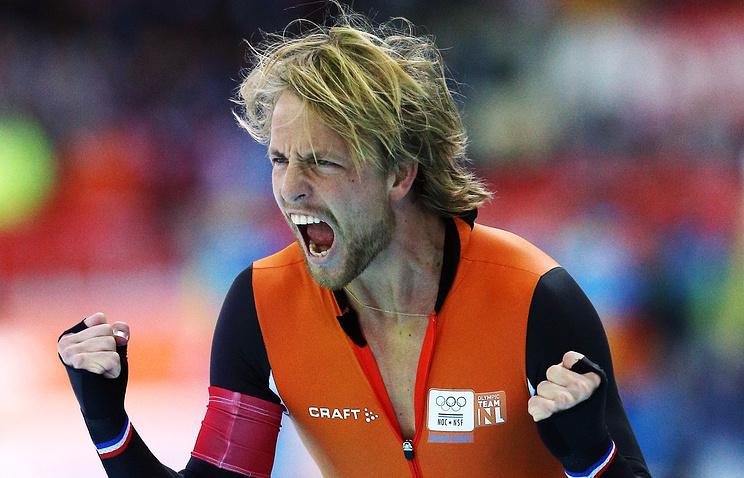 Голландский спортсмен Михел Мюлдер