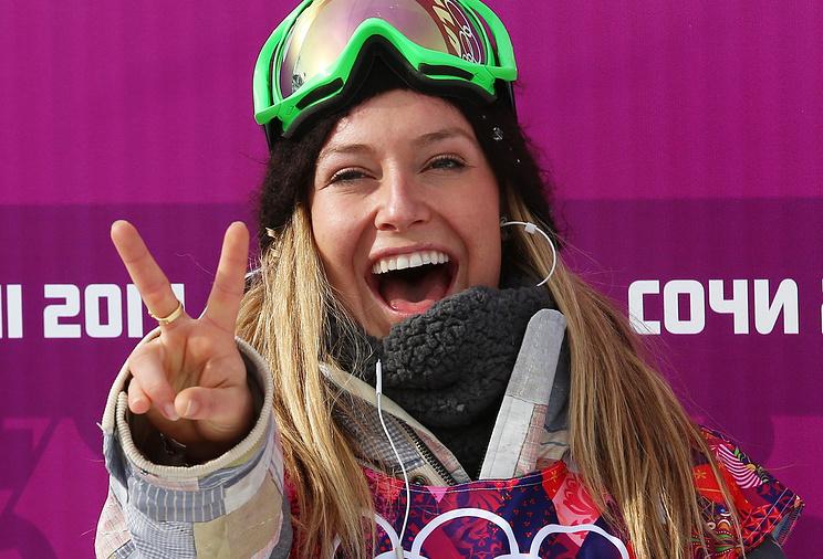 Американская сноубордистка Джейми Андерсон