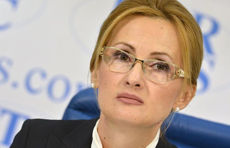Глава комитета Госдумы РФ по безопасности и противодействию коррупции Ирина Яровая