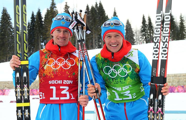 Максим Вылегжанин, Никита Крюков (слева направо)