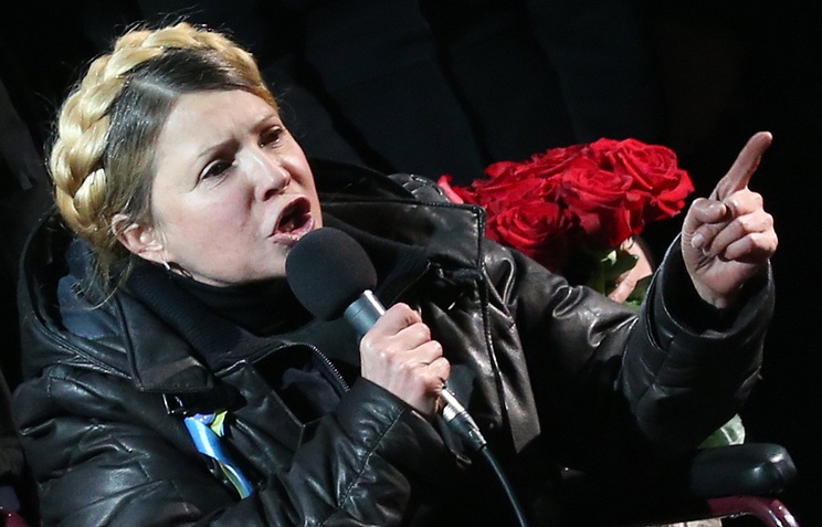 Экс-премьер Украины Юлия Тимошенко
