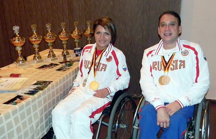 Чемпионы мира в танцах на колясках Рузанна Казарян и Алексей Фотин
