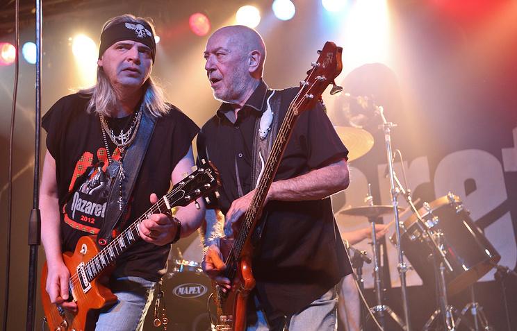 Гитарист  Джимми Мюрисон и  бас-гитарист Пит Эгнью.