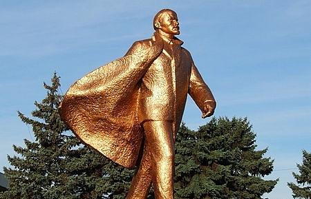 Памятник Ленину в Ильичевске