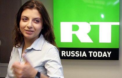 Главный редактор телеканала Russia Today Маргарита Симоньян