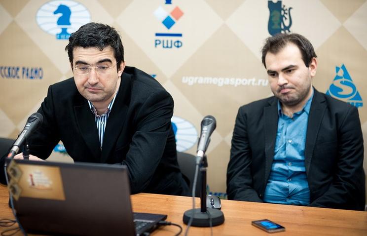 Владимир Крамник и Шахрияр Мамедьяров