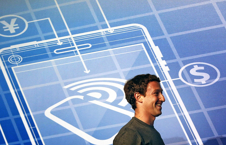 Основатель сети Facebook Марк Цукерберг