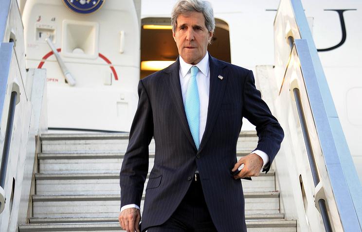 Визит Джонп Керри в Тель-Авив