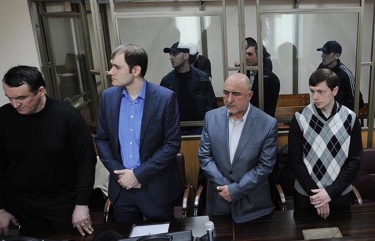 Во время оглашения приговора