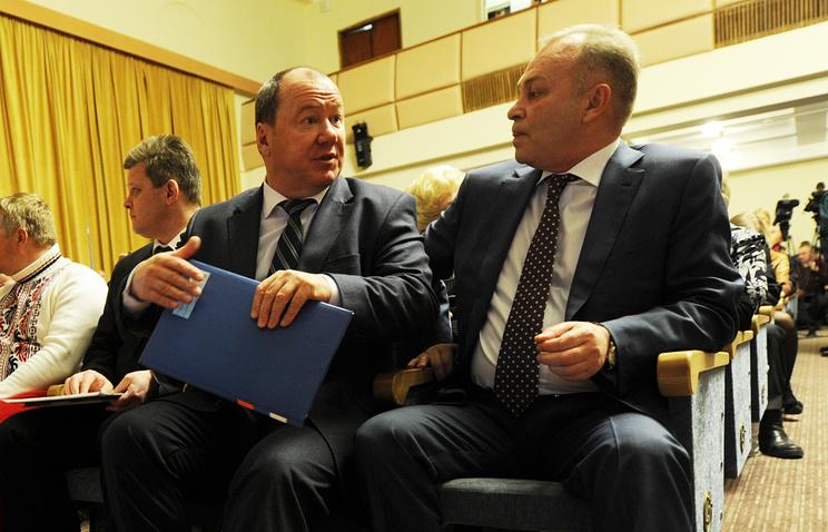 Александр Морозов и Владимир Знатков (слева направо)